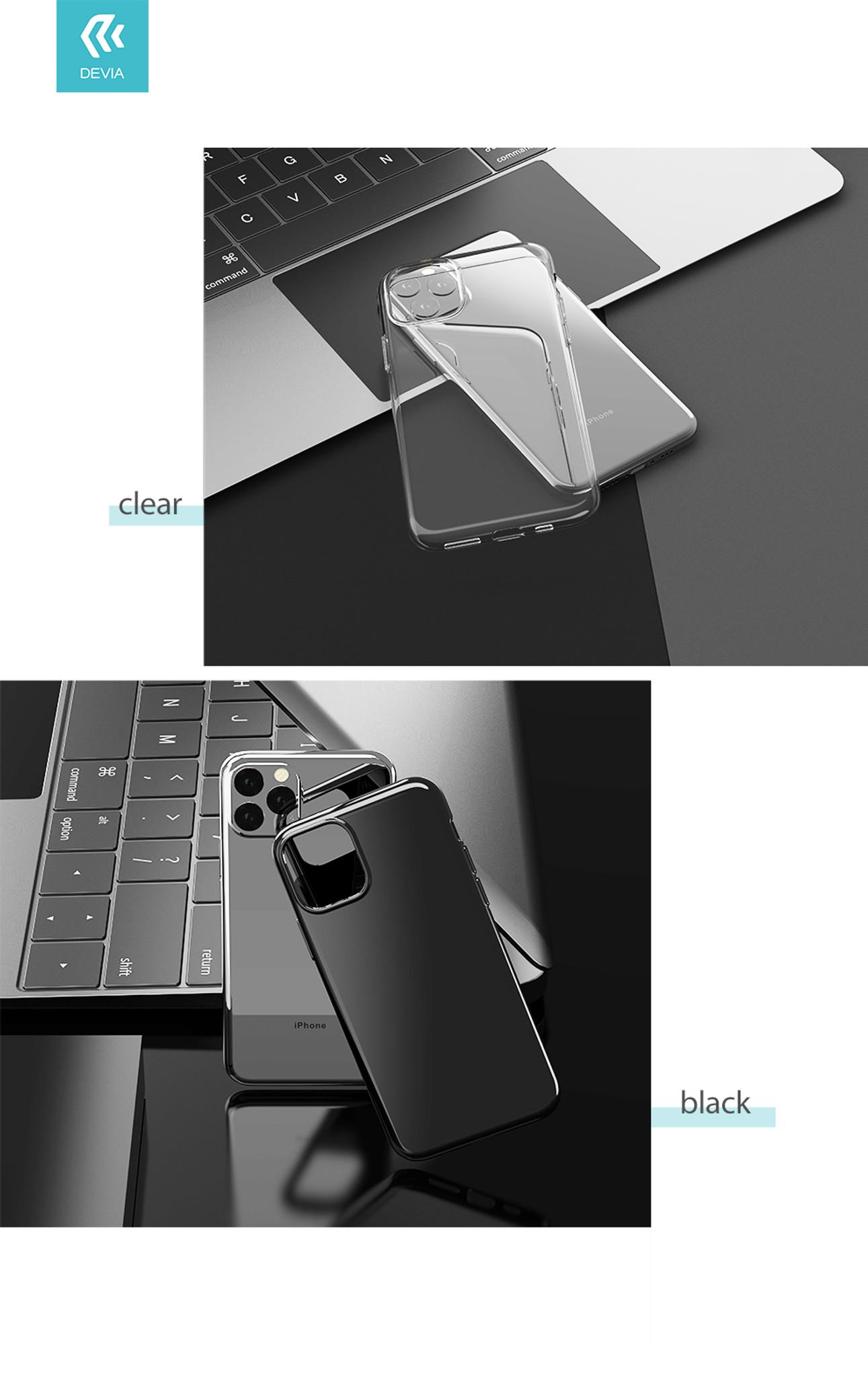 iPhone XI- Naked case(TPU)-clear
