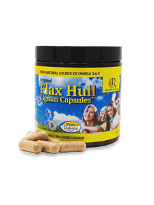 Flax Hull Lignans Capsules 3 Pack