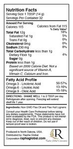 Flax Hull Lignans Oil 3 Pack