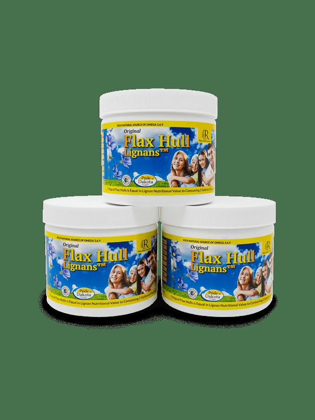 Flax Hull Lignans 3 Pack