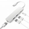 LASER AO-UCHUB4 USB Type C Multi-Port Hub - USB-C TO USB-3.0 USB-C 4K HDMI
