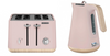 Morphy Richards 100012 240012 Scandi Aspect Kettle & Toaster PACK - Dusty Pink