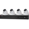 NESS 104-095 8CH NVR with 4 X 4MP CCTV Smart Security Cameras System