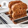 Morphy Richards 243010 Verve Black 4 Slice Toaster - Black