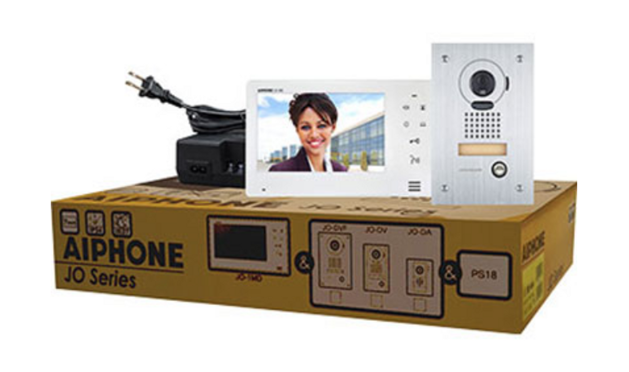 "Aiphone JOS-1F 7"" Video Intercom With Flush Mount Camera"