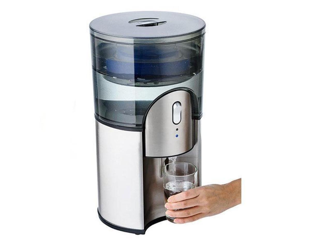 Aquaport AQP-24SS Desktop Water Cooler - Stainless Steel