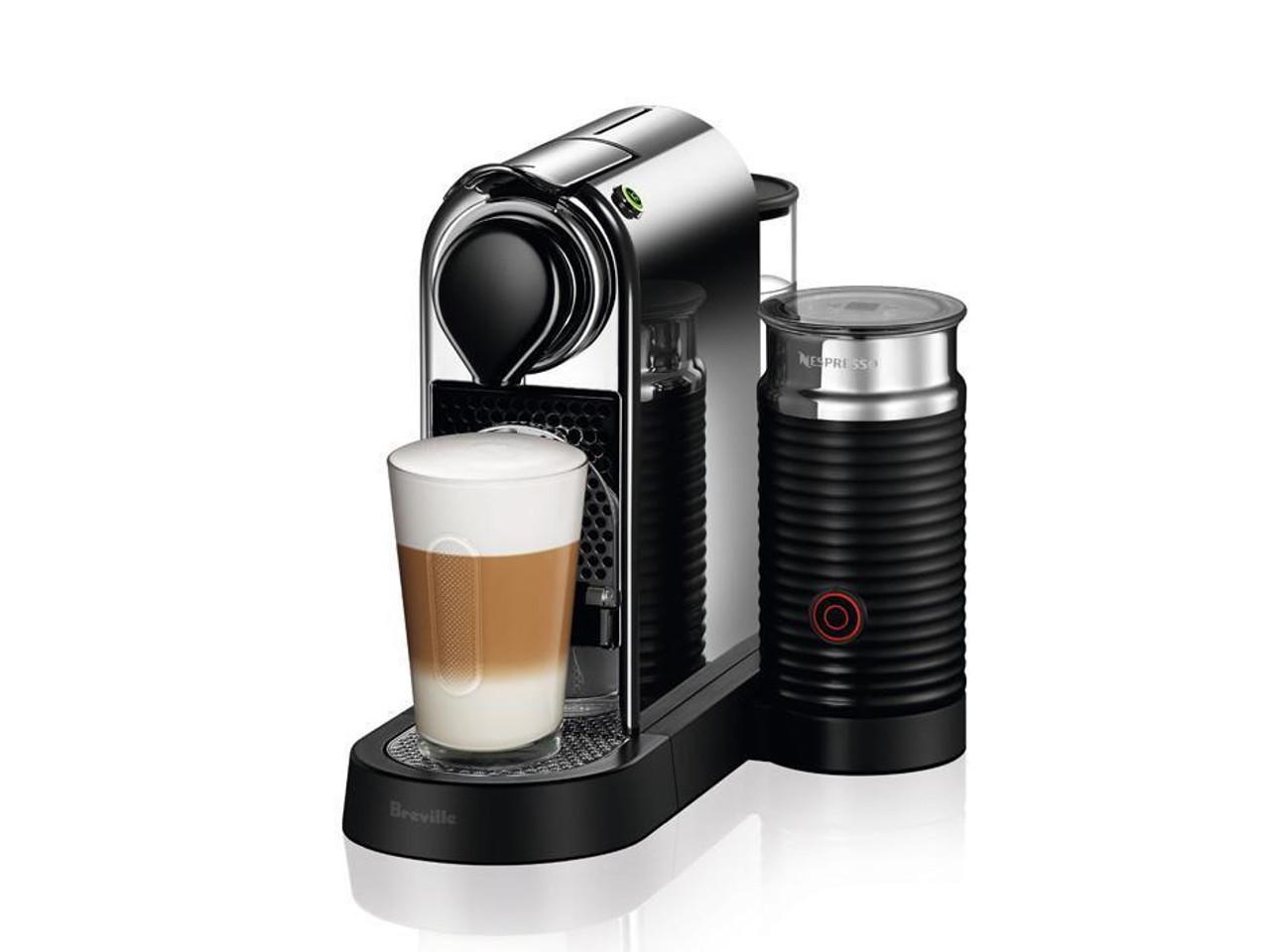 Breville BEC650MC CitiZ & Milk Nespresso Machine - Silver - RRP $399.00