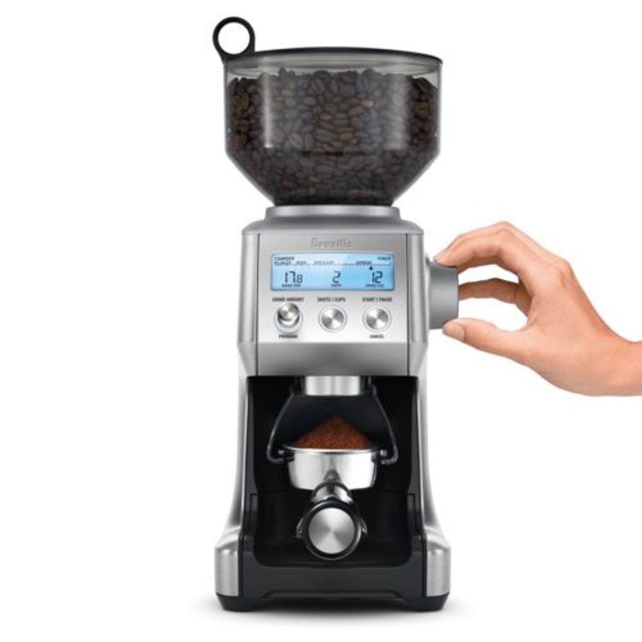 Breville BCG820BSS the Smart Grinder Pro 60 Setting Coffee Grinder