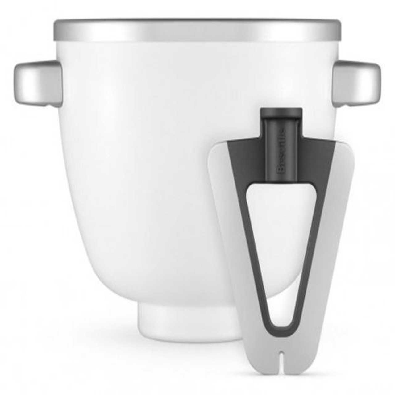 Breville BEM002WHT the Freeze & Mix™ Thermal Ice Cream Bowl with Scraper Paddle - RRP $189.95