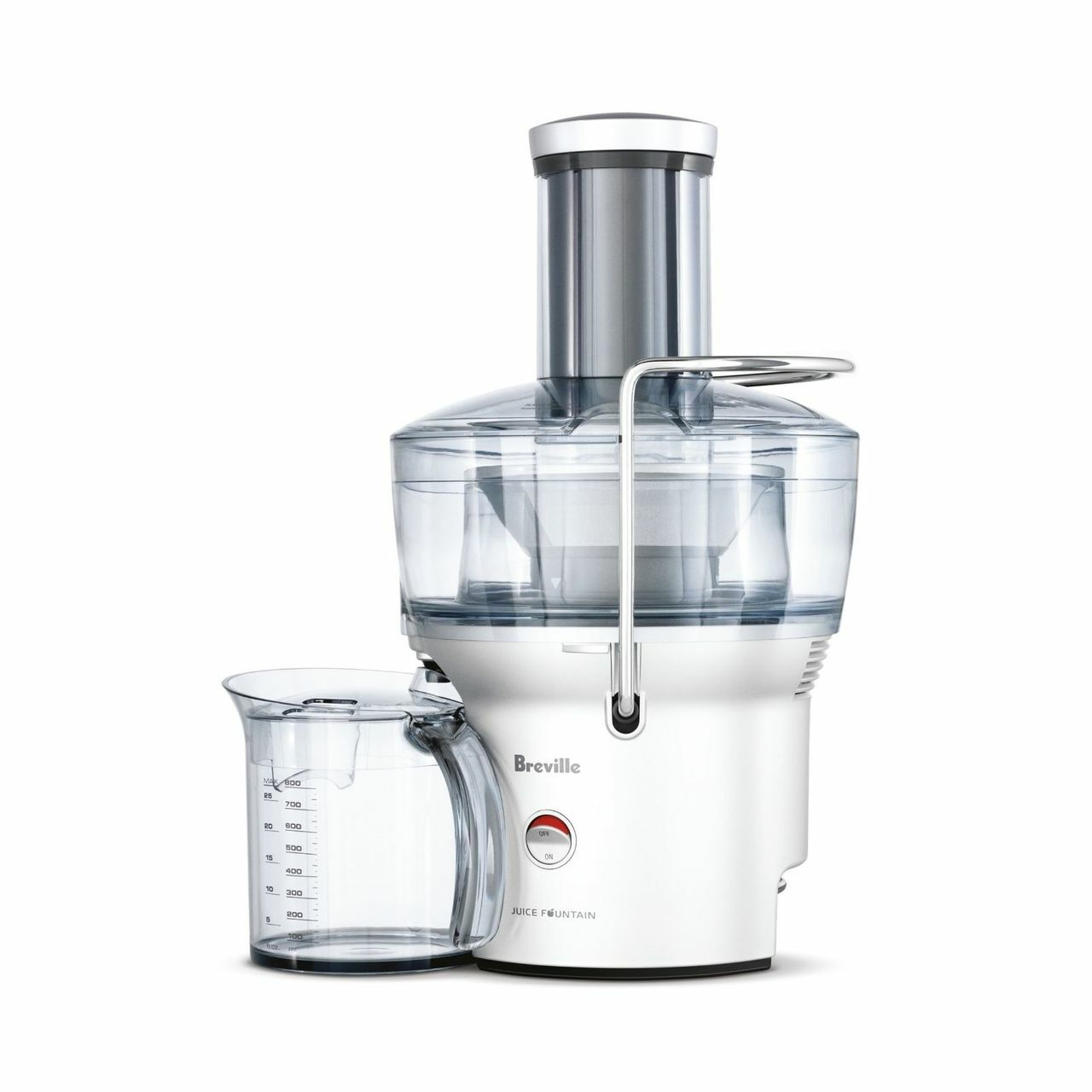 Breville BJE200SIL the Juice Fountain® Compact Juicer - RRP $169.95