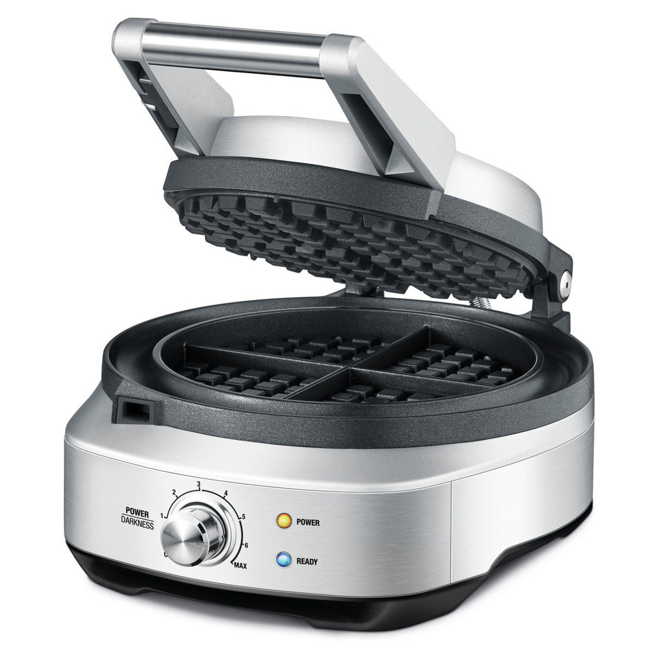 Breville BWM520BSS the No-Mess Waffle™ 4 Slice Waffle Maker