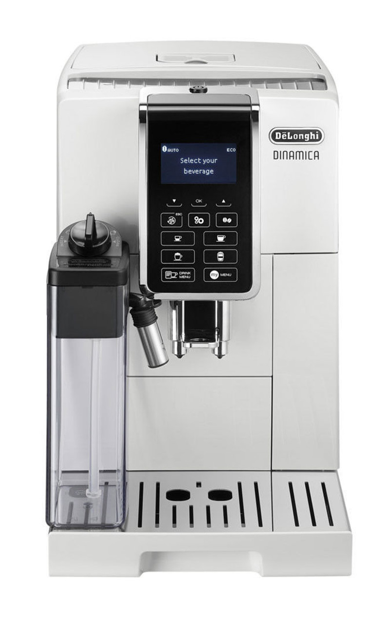 DeLonghi ECAM35055W Dinamica Fully Automatic Coffee Machine - White