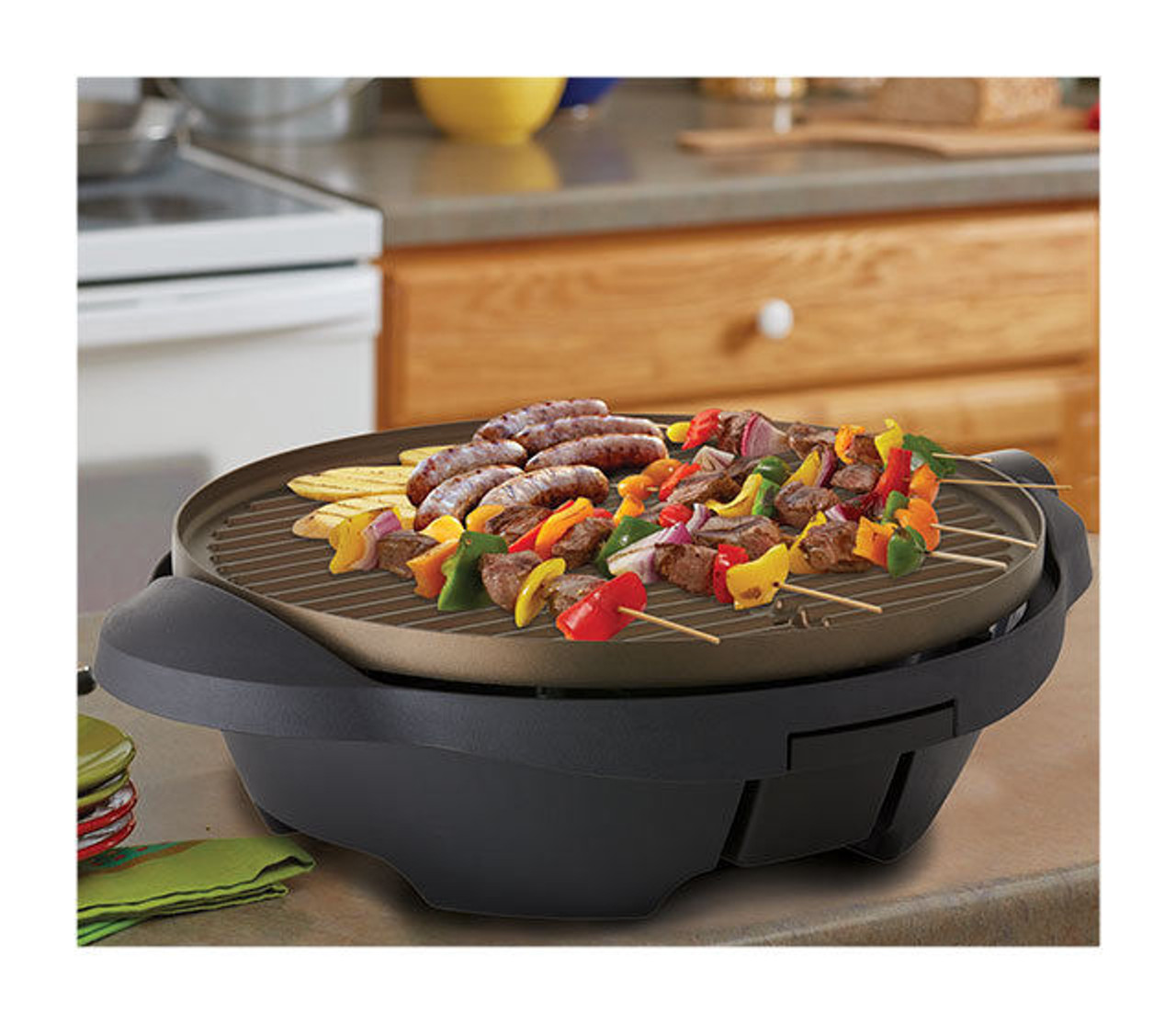 George Foreman GGR300AU Easy to Clean Indoor/Outdoor BBQ