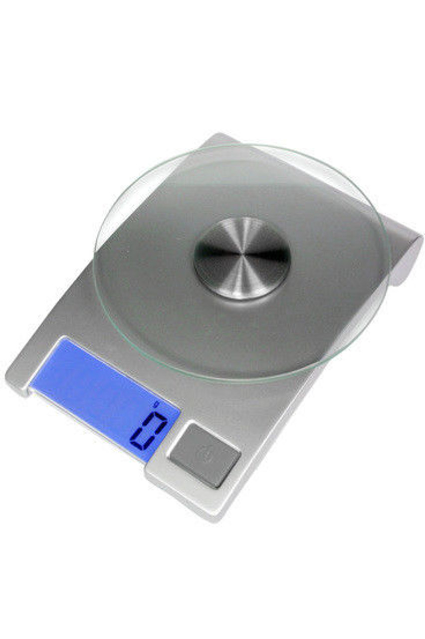 Homedics 1021SVDR Electronic Kitchen Scale with Glass Platform