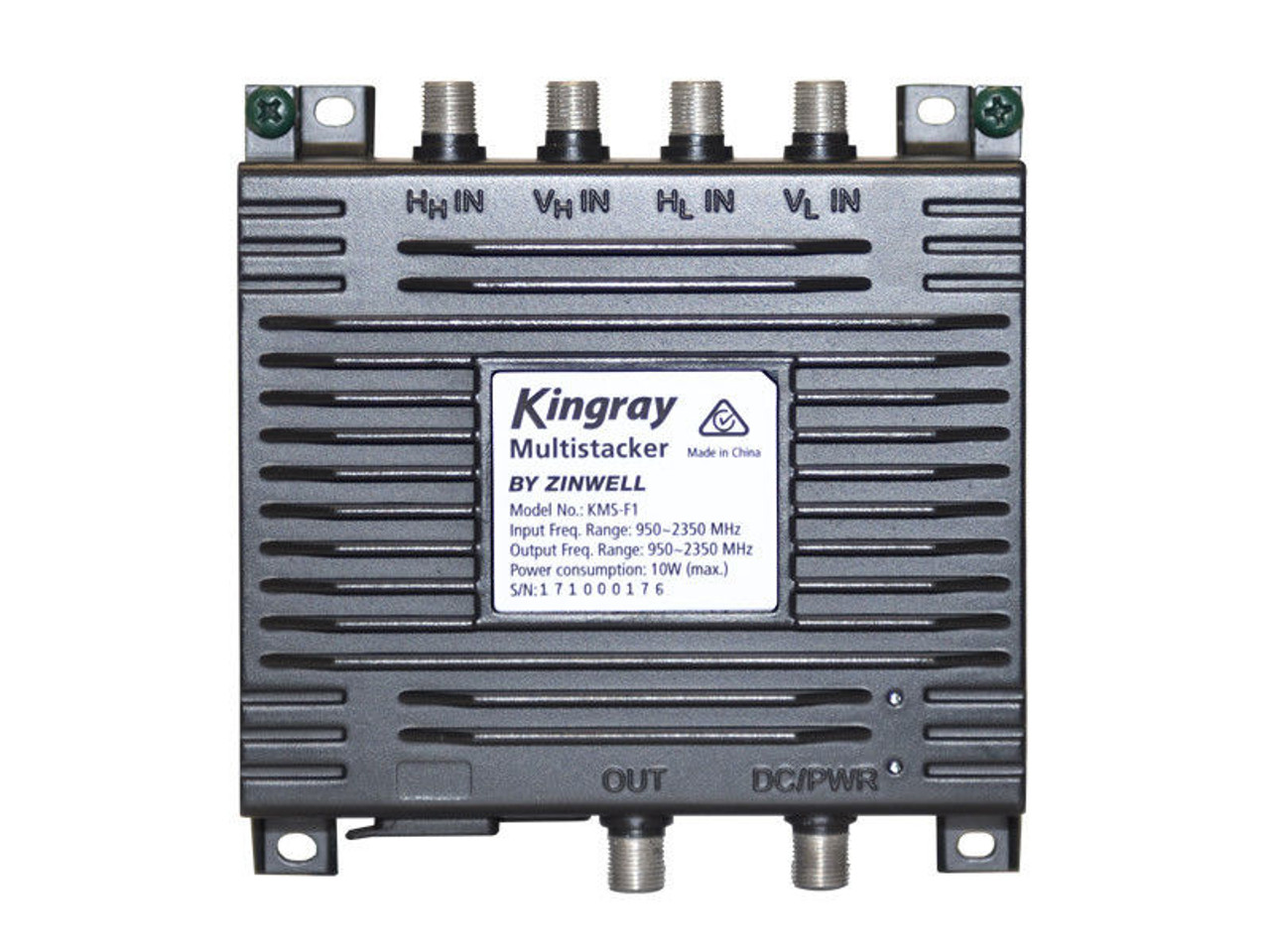 Kingray KMS-F1 Single Wire Satellite Multistacker - Pay TV Approved