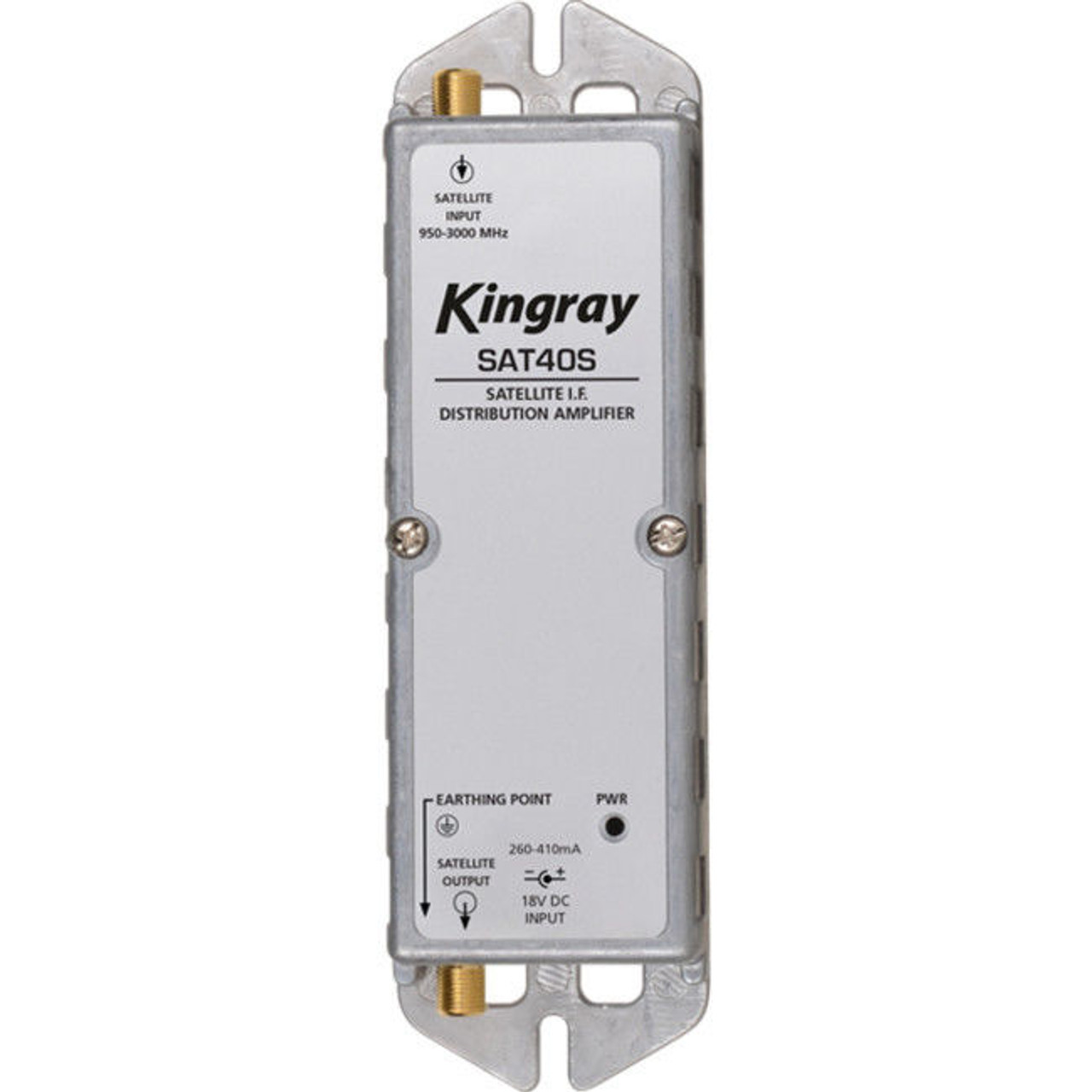 Kingray SAT40S F-Type Satellite Distribution Amplifier