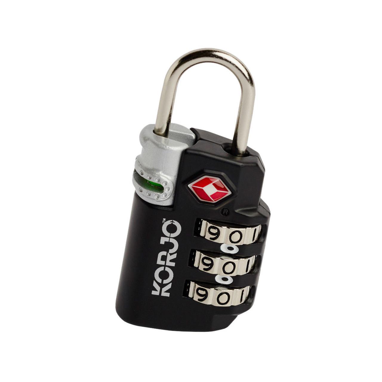 Korjo TSA72 TSA Indicator Combination Lock a Must-Have for Travelling to USA