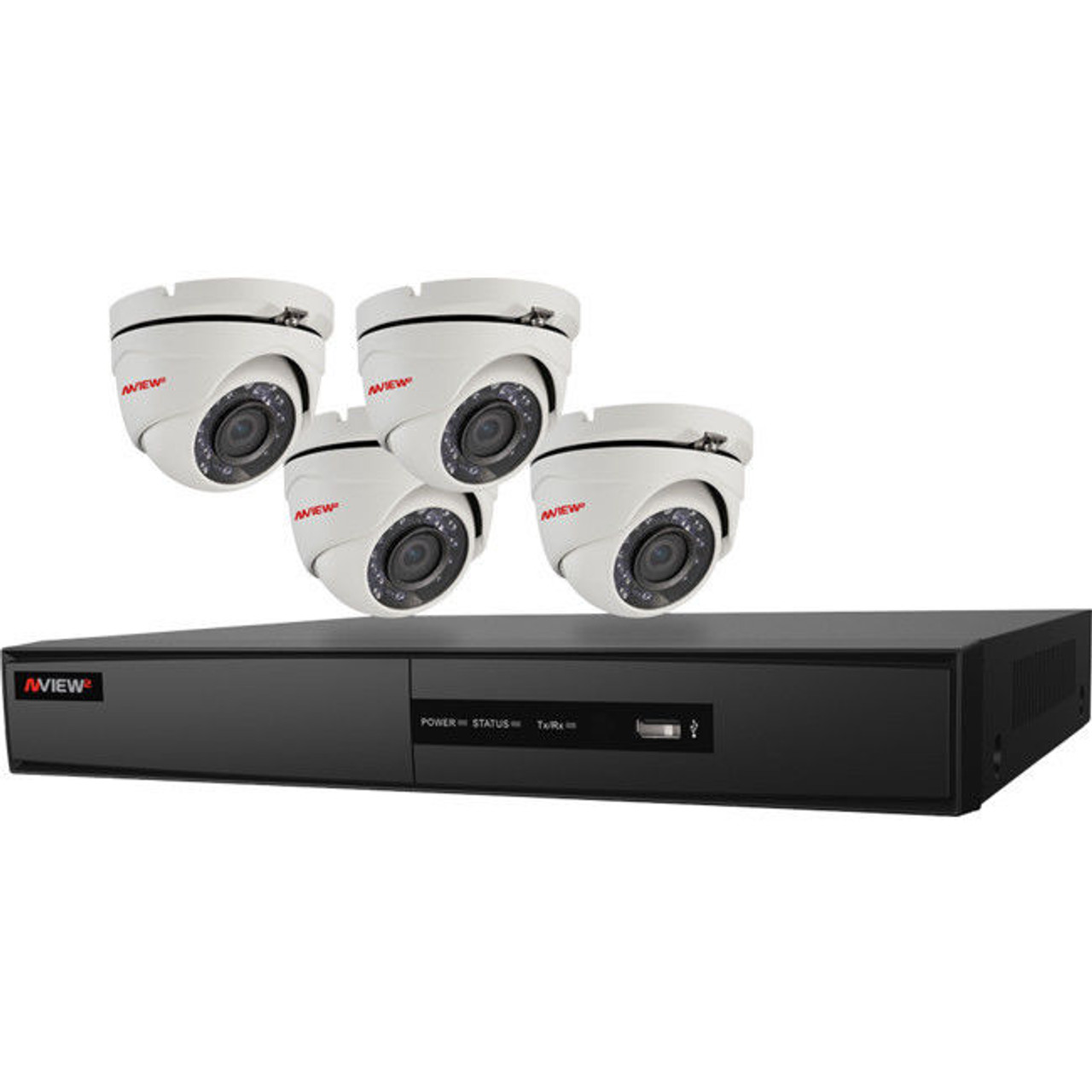 NESS 104-631 NView2 v2 4X4 1080P CCTV KIT - Professional DIY HD CCTV KIT