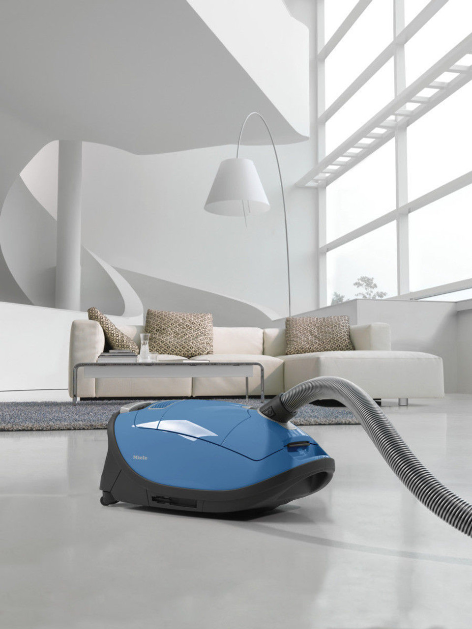NEW 2018 Miele 10797840 Complete C3 Allergy PowerLine Vacuum Cleaner - Tech Blue