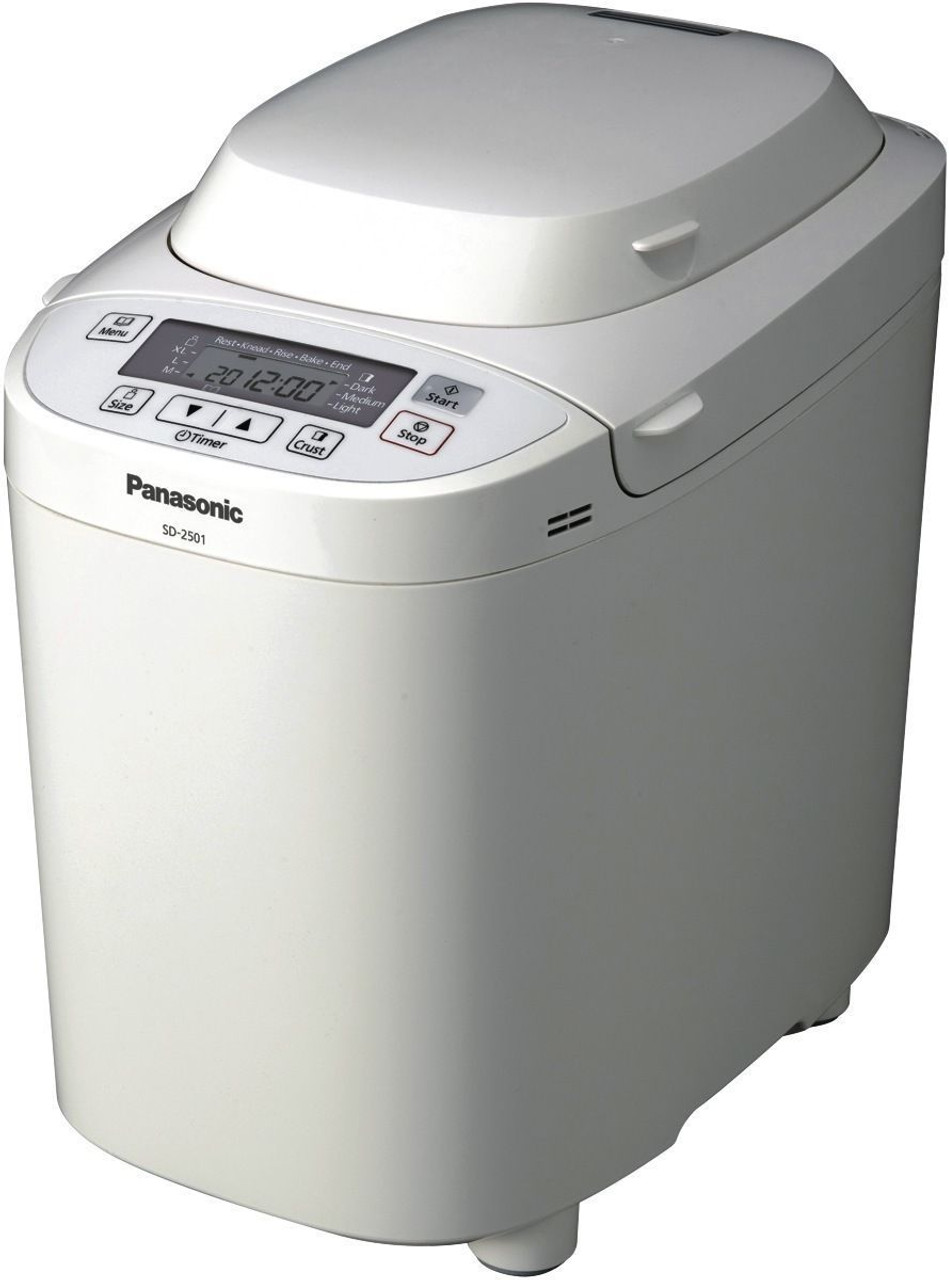 Panasonic SD-2501 Bread Maker with Gluten Free Bread Program - RRP $269.00