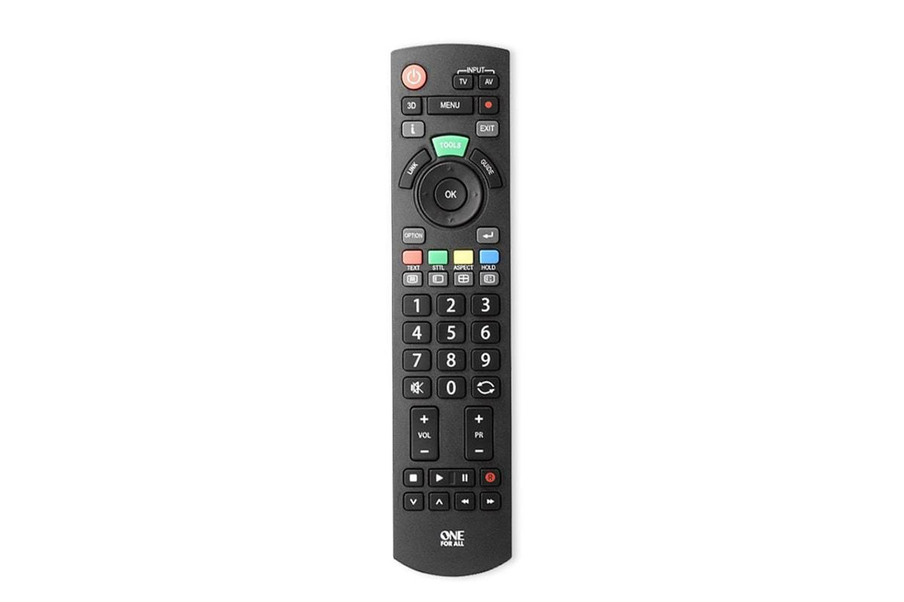 One For All Replacement Remote Control for Samsung LG Sony Panasonic TV Models