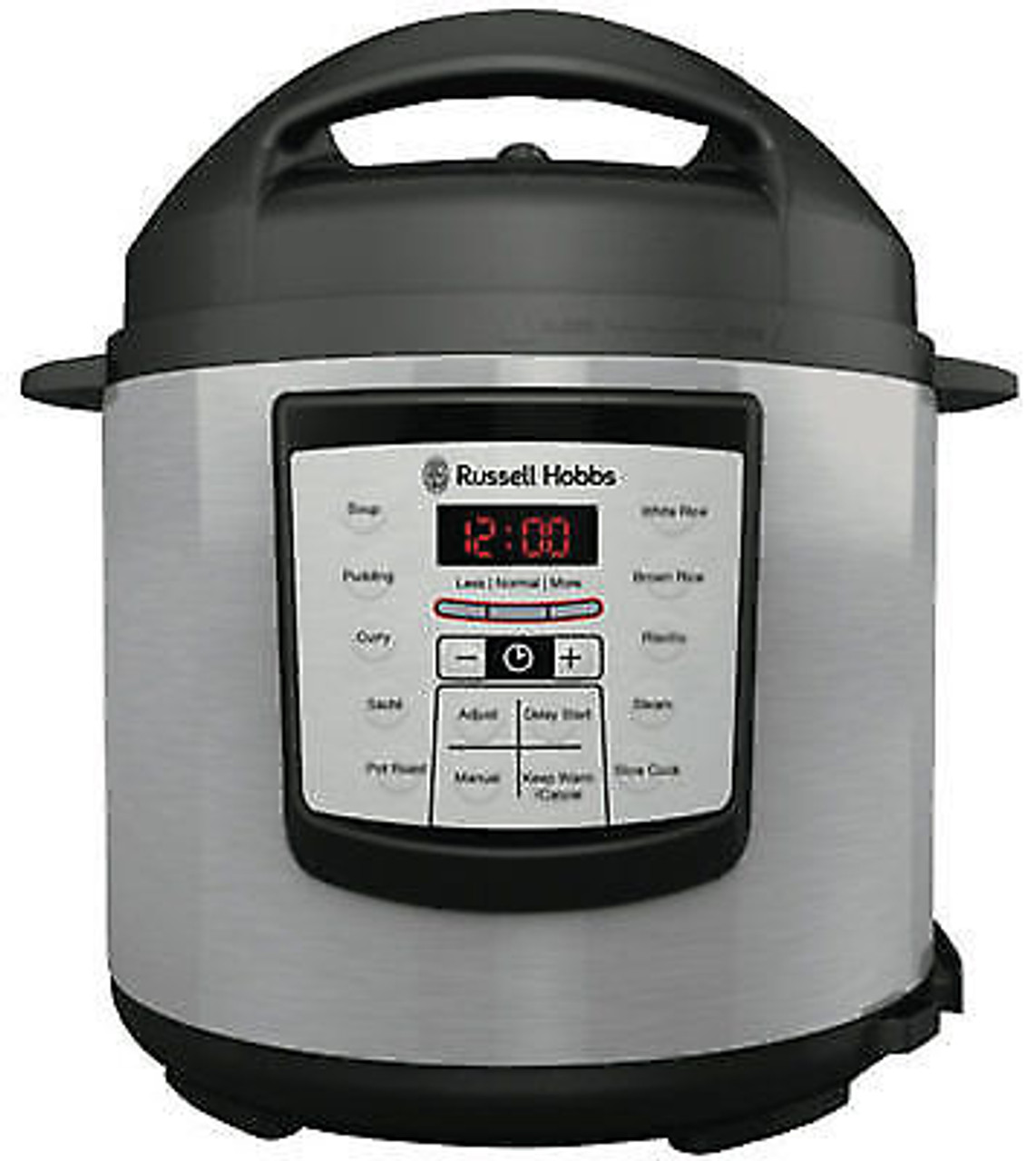 Russell Hobbs RHPC1000 Express Chef 6L Digital Multi Cooker - Silver