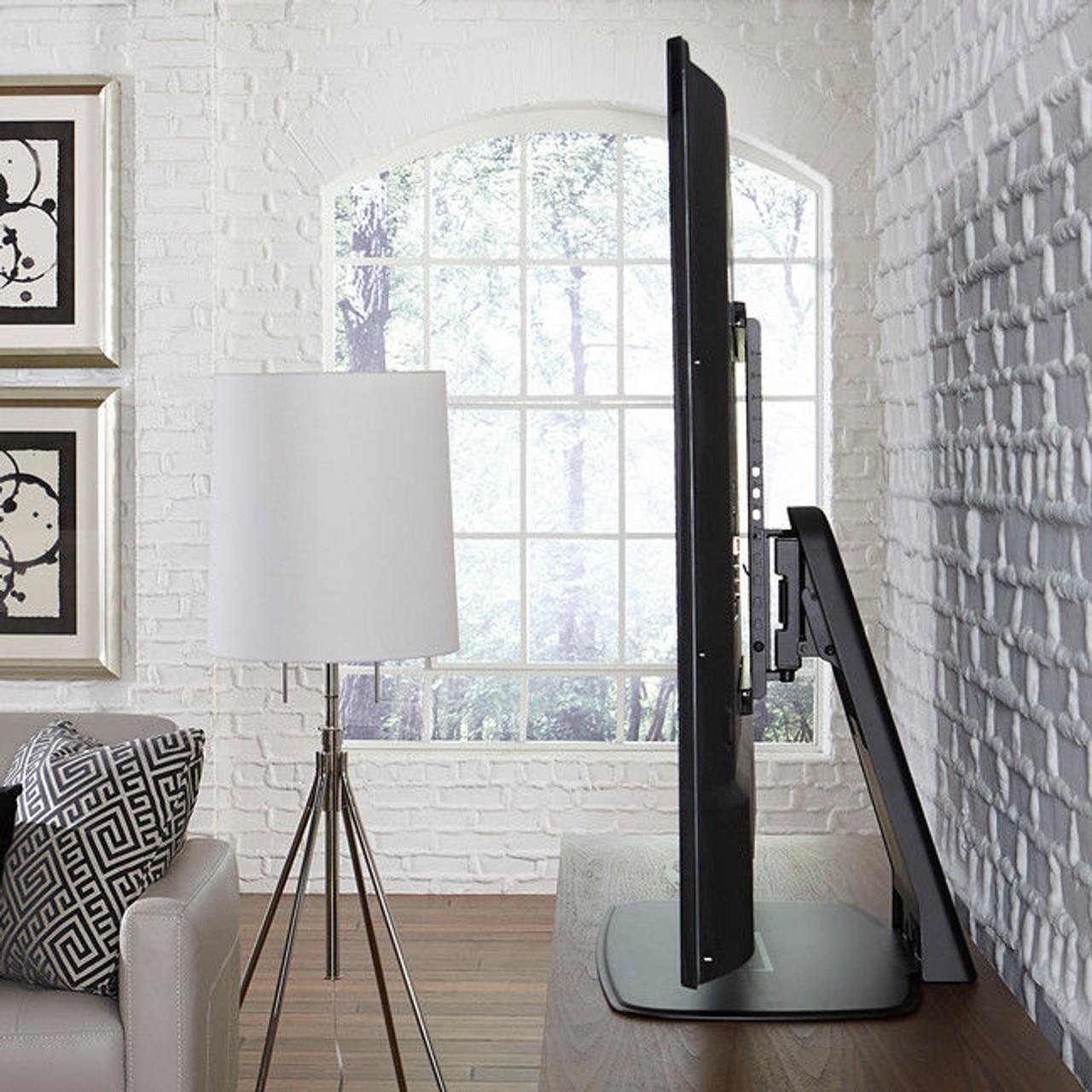 "SANUS WSTV1-B2 Swivel TV Base for 32""-60"" TVs - Sonos PLAYBASE Compatible"