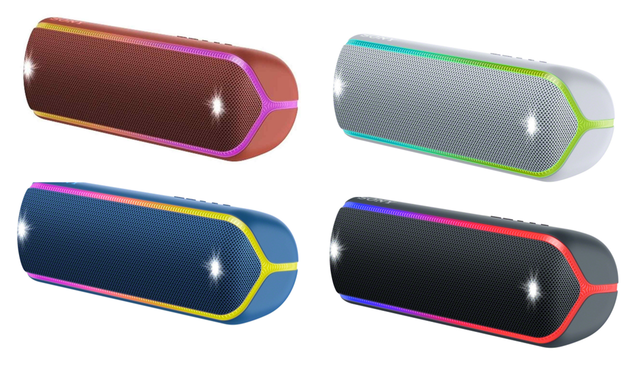 Sony SRS-XB32 Extra Bass™ Portable Bluetooth Speaker - Black/Grey/Red/Blue