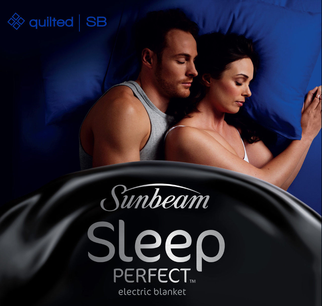 Sunbeam BL5421 Sleep Perfect™ Quilted Heated Blanket - Single Bed