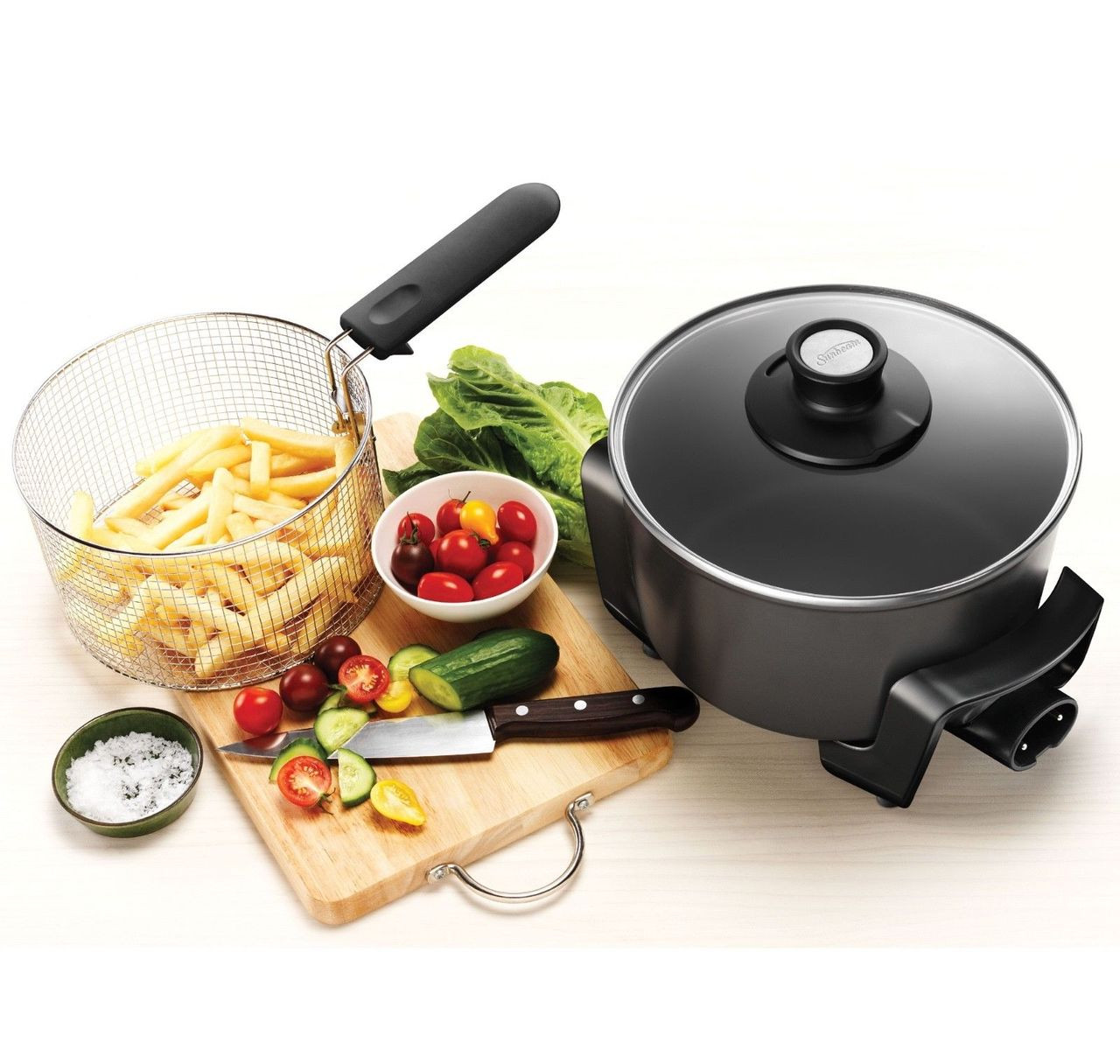 Sunbeam DF4500 MultiCooker Deep Fryer -Use as saucepan, small frypan, deep fryer