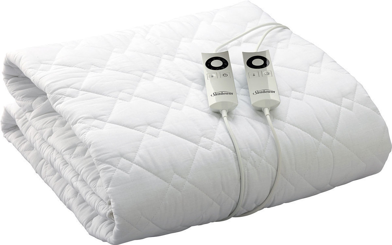 Sunbeam BL5471 Sleep Perfect™ Quilted Heated Blanket - King Bed - RRP $269.00