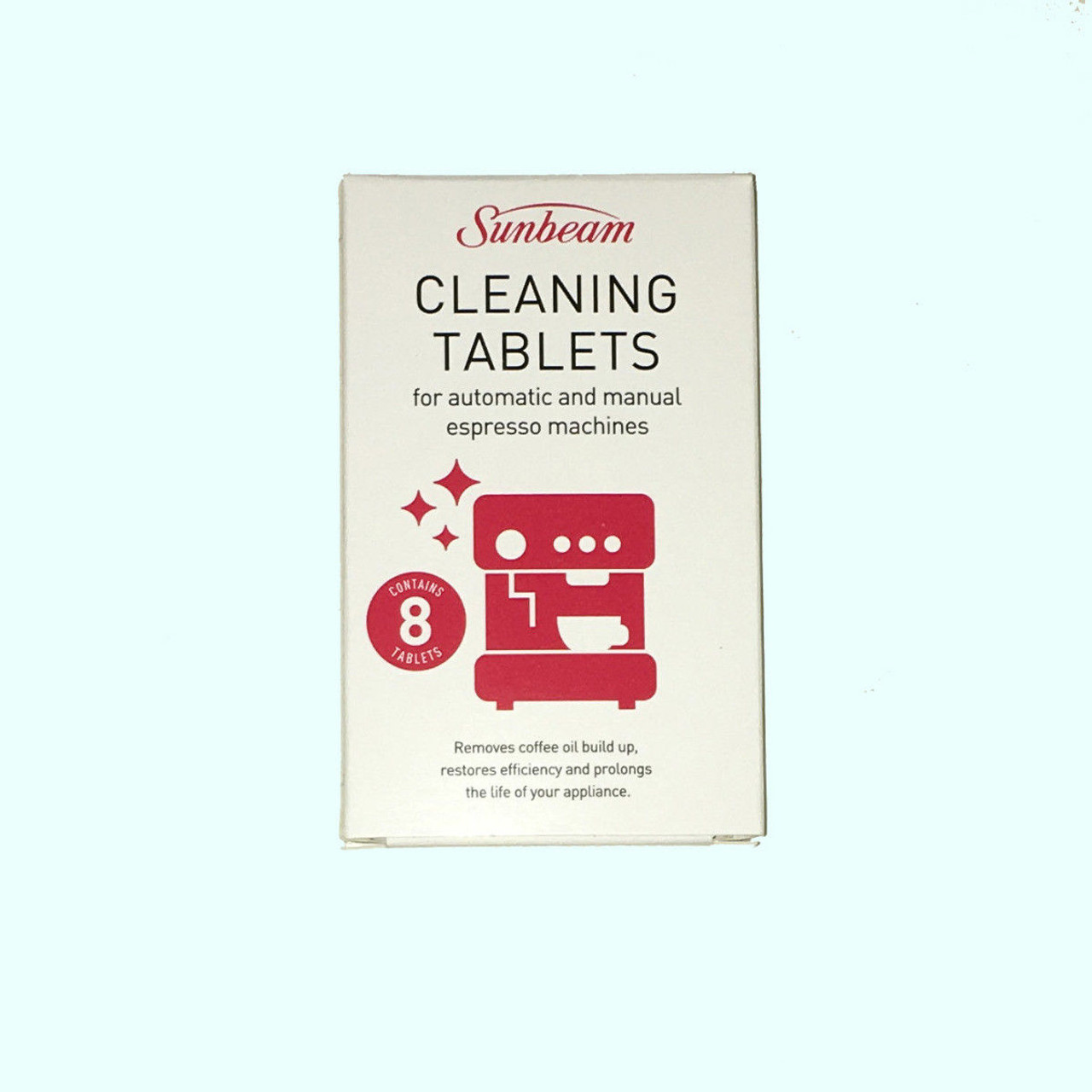 Sunbeam EM0020 Espresso Machine Cleaning Tablets x 8
