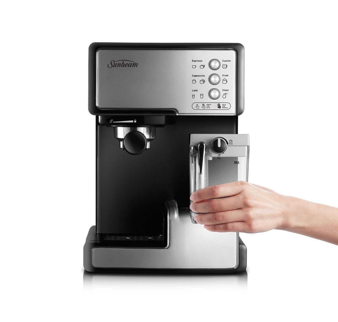 Sunbeam EM5000 Café Barista Manual Coffee & Automated Milk Machine