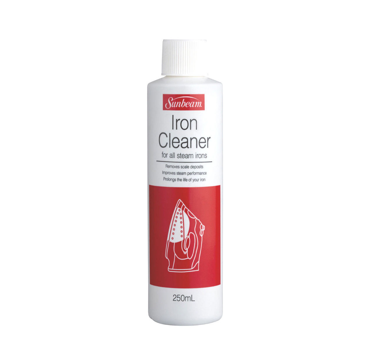 Sunbeam SR0300 Iron Cleaner 250ml Use to Remove Mineral Deposits from your Iron