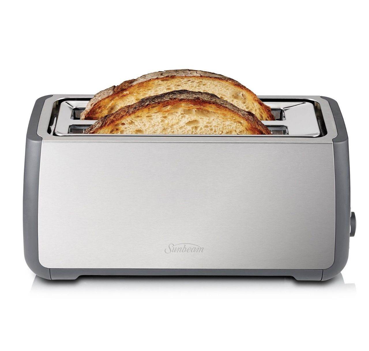 Sunbeam TA4540 Long Slot Toaster - 4 Slice - 2 slots accomodates 4 slices