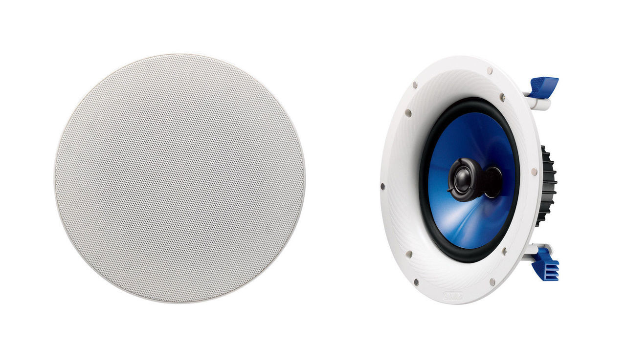 "Yamaha NS-IC800 8"" In-Ceiling Speakers x 2"
