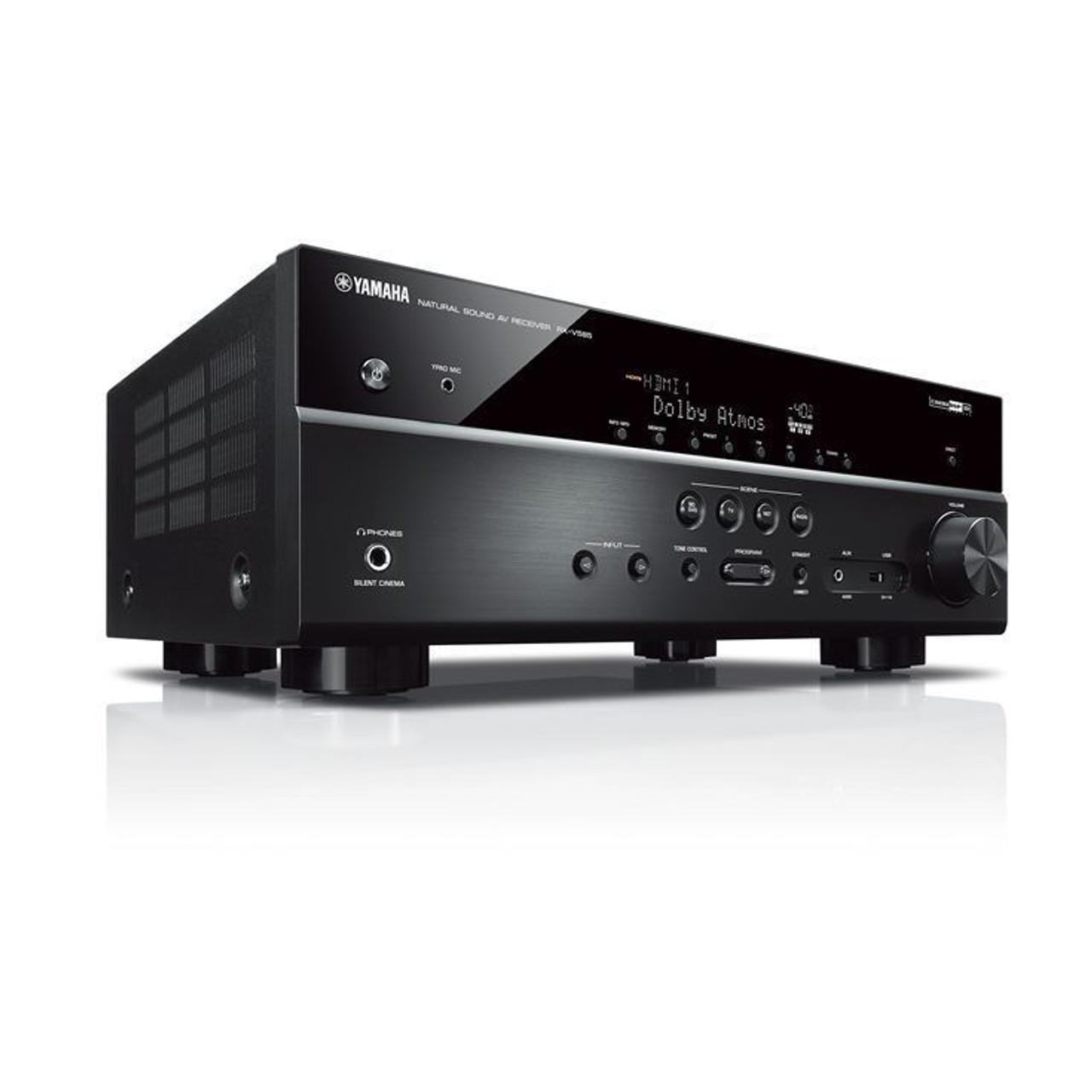 Yamaha RX-V585 7.2 Ch AV Receiver with MusicCast - NEW MODEL