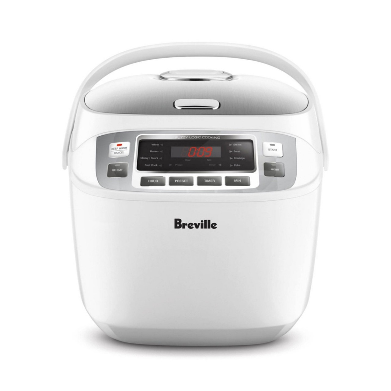Breville LRC480WHT the Smart Rice Box 10 Cups Capacity Rice Cooker - White