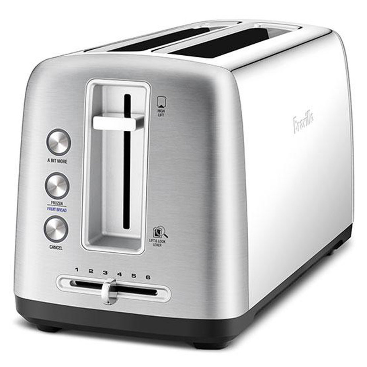 Breville LTA650BSS The Toast Control Long 4 Slice Toaster - Stainless Steel