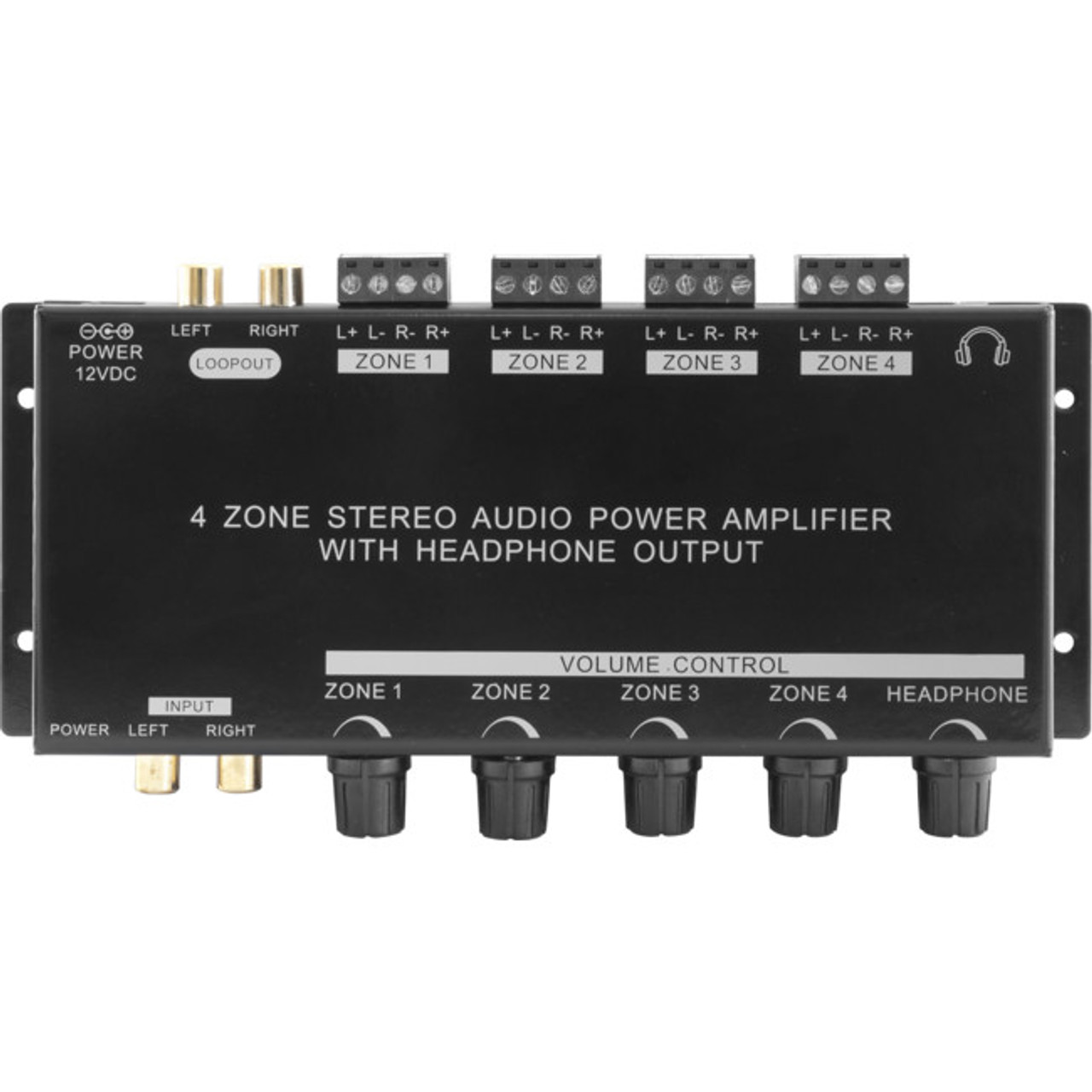Pro2 PRO1300 Four Zone Stereo Power Amplifier - RRP $275.00