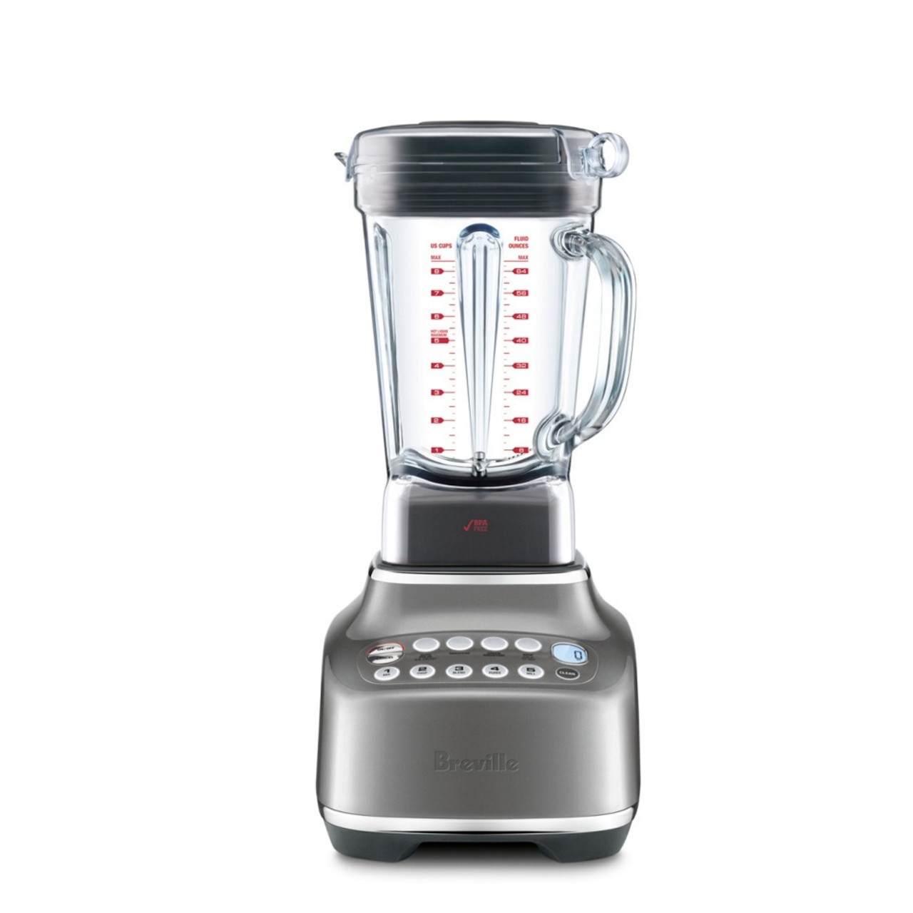 Breville BBL820SHY the Q Quick Super Blender Smoked Hickory