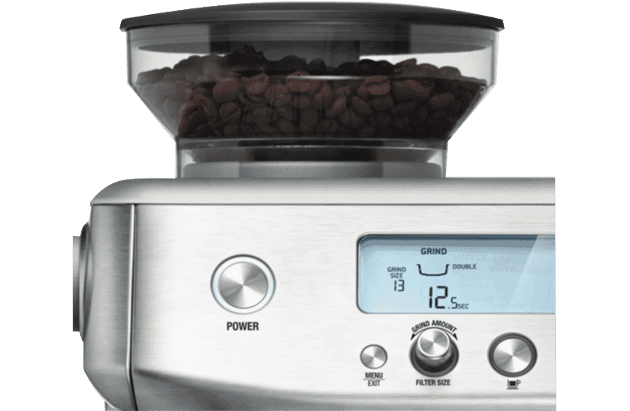 Breville BES878BSS The Barista Pro Espresso Coffee Machine - Stainless Steel