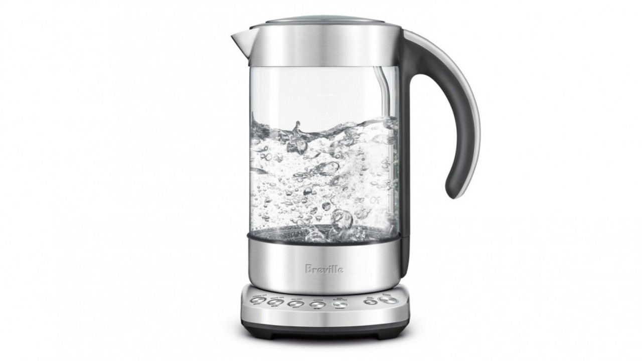 Breville BKE840CLR 1.7L Smart Kettle Five Temperature - Clear