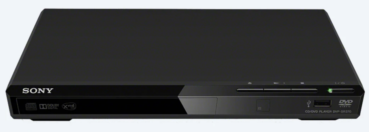 Sony DVP-SR370 DVD Player with USB Connectivity