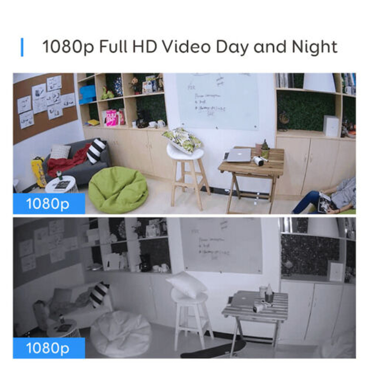 Eufy T8801CD2 Wire Free HD Security 2-Camera Set with Home Base Kit - RRP $799.00 + BONUS NIGHT LIGHTS
