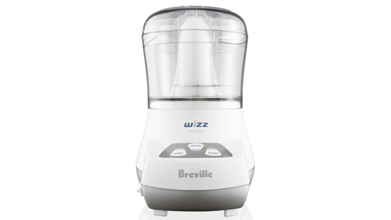 Breville BFP100WHT the Mini Wizz Compact 250W Food Processor - White
