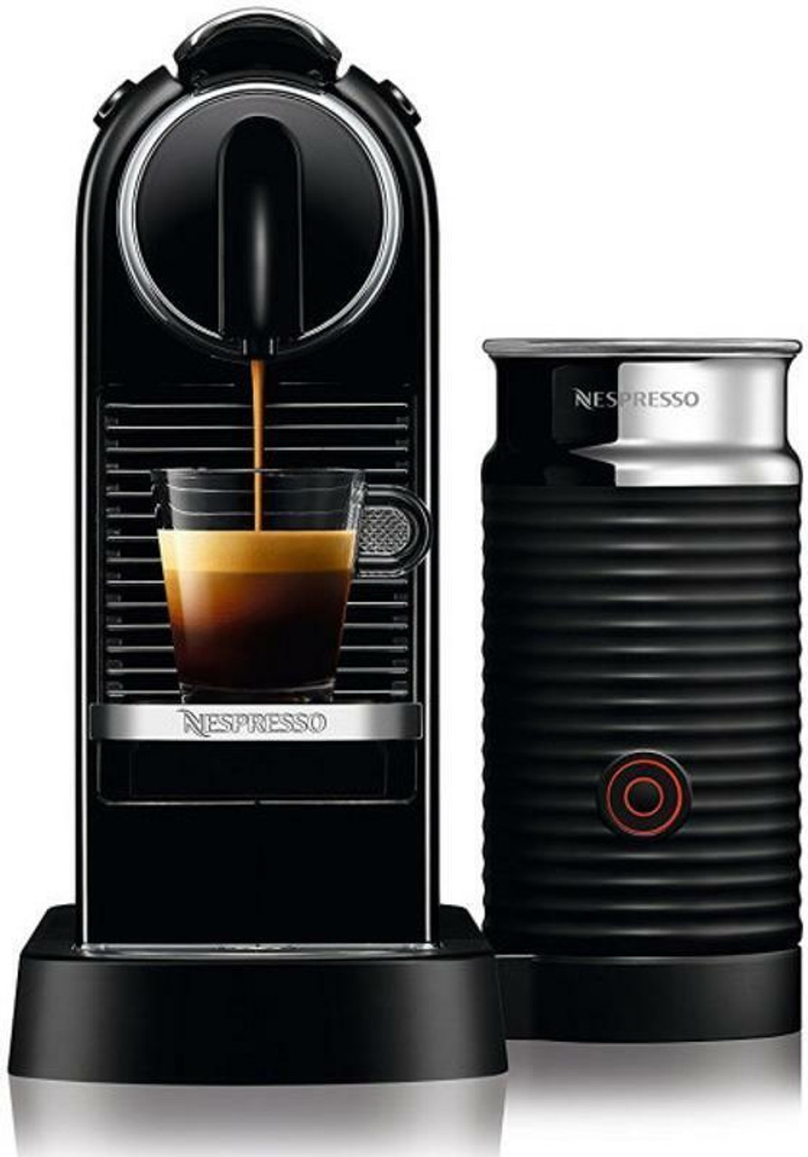 Delonghi EN267BAE EN267WAE Citiz & Milk Nespresso Machine - Black - White - RRP $399.00