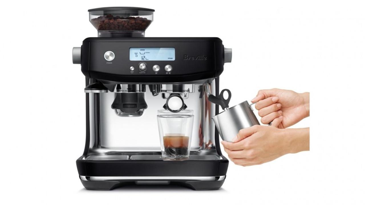 Breville BES878BTR The Barista Pro Espresso Coffee Machine - RRP $1199.00