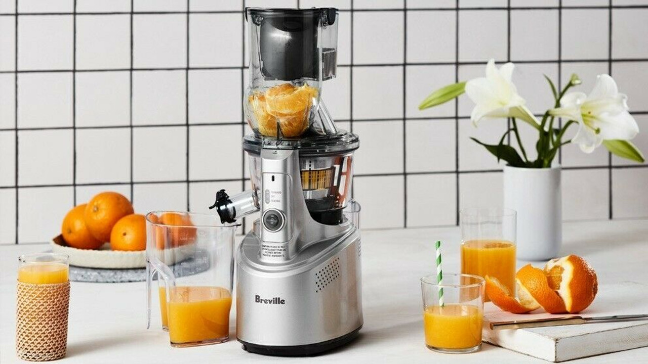 Breville BJS700SIL the Big Squeeze™ Slow Compression Juicer - HURRY LAST 2!