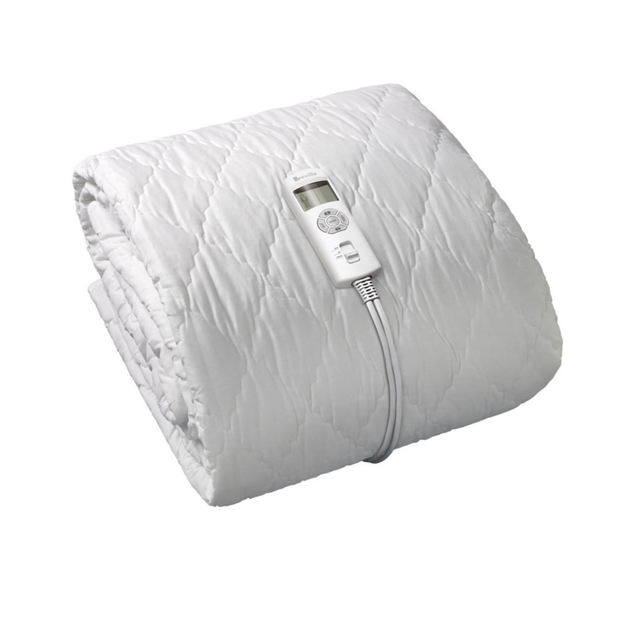 Breville BZB517WHT BodyZone King Single Quilted Fitted Heated Blanket